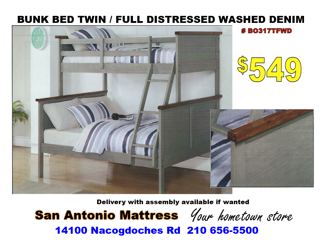 San Antonio Mattress and Futon Bunk Beds