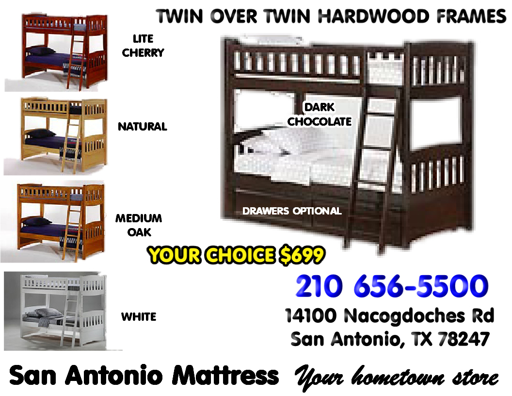 This Bunk Bed Is Made From The Finest Quality Plantation Grown Hardwoods Can Separated Into 2 Twin Beds Or Stacked An
