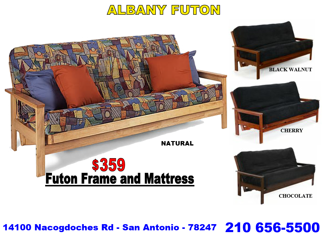 Futon Locally Owned And Operated